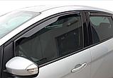 Дефлектори вікон вставні Ford C-Max 2010 - 2019 5D, 4шт, фото 4
