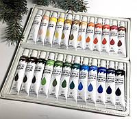 Краска акриловая набор 24шт для росписи ногтей