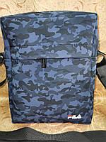 Спортивные барсетка fila сумка для через плечо камуфляж Искусств кожа только оптом, фото 1