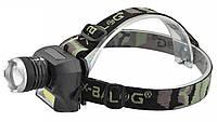 Налобный фонарик Police BL-6919 Cob панель