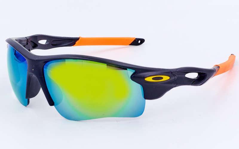 Очки спортивные солнцезащитные Oakley (пластик, акрил) Белый PZ-MS-2496_1
