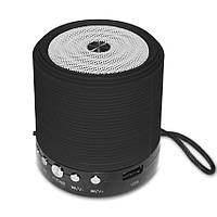 Портативная bluetooth колонка MP3 плеер Wster WS-631 Blc Black