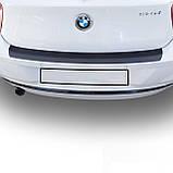 Пластиковая защитная накладка на задний бампер для BMW 1-series F20 2011-2015, фото 4