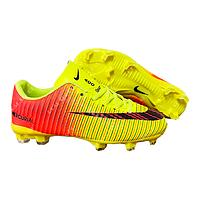 Бутсы (копы) Nike Mercurial CR7 A855C-2K Yellow, р 31-36