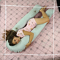 Подушка для беременных XXL U-образная 290*185 Обнимашка Подкова Одуванчик Купить