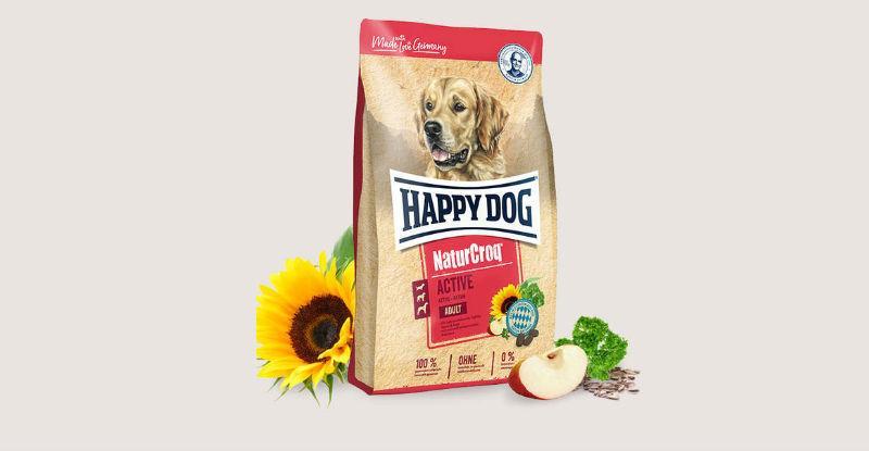 Корм Happy Dog Natur Croq Active Хеппі Дог Натур Крок Актів для собак 15 кг