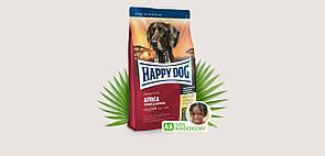 Корм Happy Dog Sensible Africa Хеппі Дог зі страусом та картопляними пластівцями для собак 12,5 кг