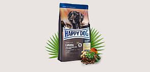 Корм Happy Dog Sensible Canada Хеппі Дог з м'ясом лосося,кролика,ягняти та картоплі для собак 1 кг