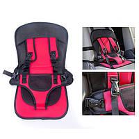 Детское автокресло бескаркасное 9-18 кг (1-6 лет) Child Car Seat / Розовый