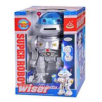 Умный робот 28072 на радиоуправлении ( стреляет дисками, на батарейках, ходит, танцует )