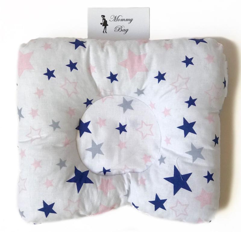 Ортопедическая подушка для новорожденных Звездочки №9