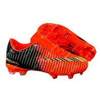 Копы (бутсы) Nike Mercurial CR7 A855C-1K Orange, р. 31-36