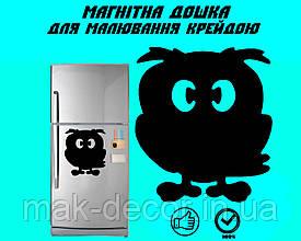 """Магнітна дошка на холодильник """"Філін"""" XL (30х35см)"""