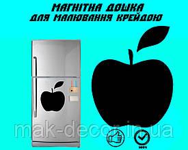 Магнитная доска на холодильник - Яблоко L (25x25 cm)