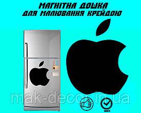 """Магнітна дошка на холодильник """"Яблуко"""" XL (30х35см)"""