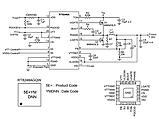 IR3553M / 3553M PQFN - драйвер + мосфет (DrMOS) для видеокарт, фото 3