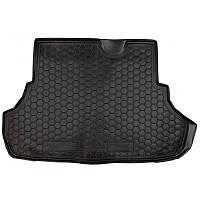 Коврик в багажник MITSUBISHI Lancer X (2007>) (седан) (пластик) (Avto-Gumm)