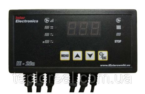 Автоматика для твердопаливного котла зі шнеком для подачі палива Inter Electronics IE-28n (Польща)