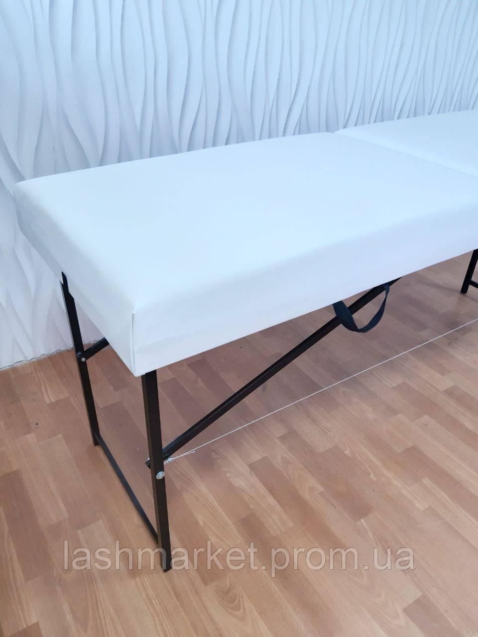 Облегчённый XXL. Косметологическая кушетка для наращивания ресниц(очень мягкая)