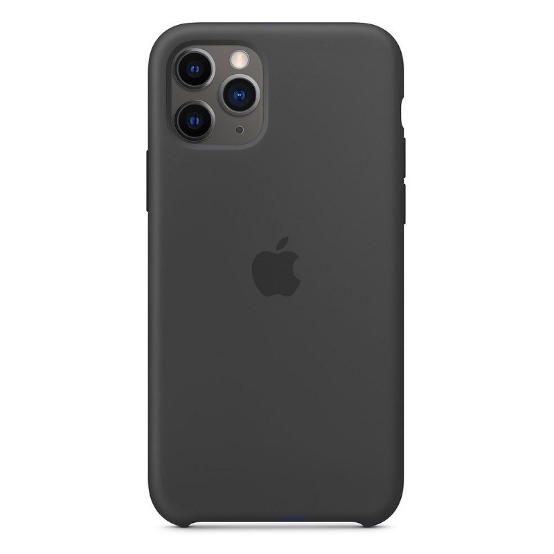 Силиконовый чехол iPhone 11 Pro (2019) черный