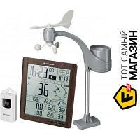 Домашняя метеостанция Bresser Weather Center ClimaTemp XXL Brown - барометр, термометр, гигрометр, анемометр, осадкомер