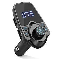 Трансмиттер автомобильный (модулятор) FM MP3 Mod T11 Bluetooth черный