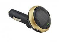 Трансмиттер автомобильный FM MP3 Mod Q8 Bluetooth золотый