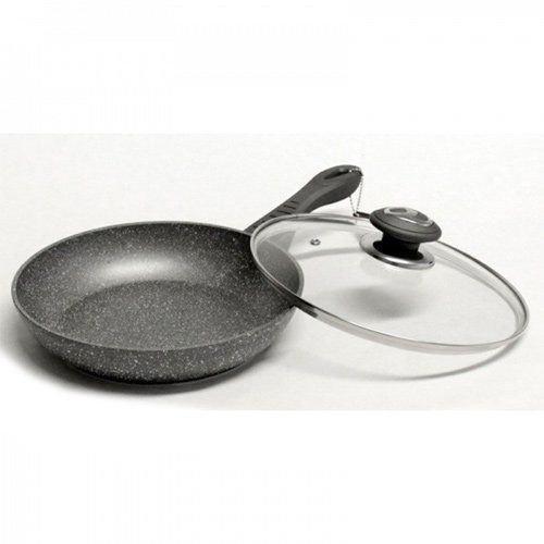Сковорода Vissner VS 7560-24 24 см з кришкою