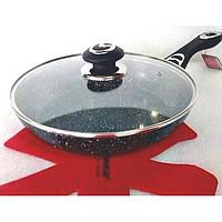 Сковорода Vissner VS 7560-26 26 см з кришкою