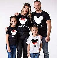 Футболки Семейные Mommy Daddy And Kid