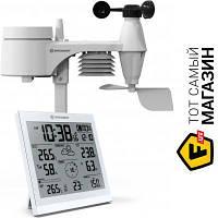 Домашняя метеостанция Bresser Weather Center JC XXL 5в1 White - барометр, термометр, гигрометр, анемометр, осадкомер