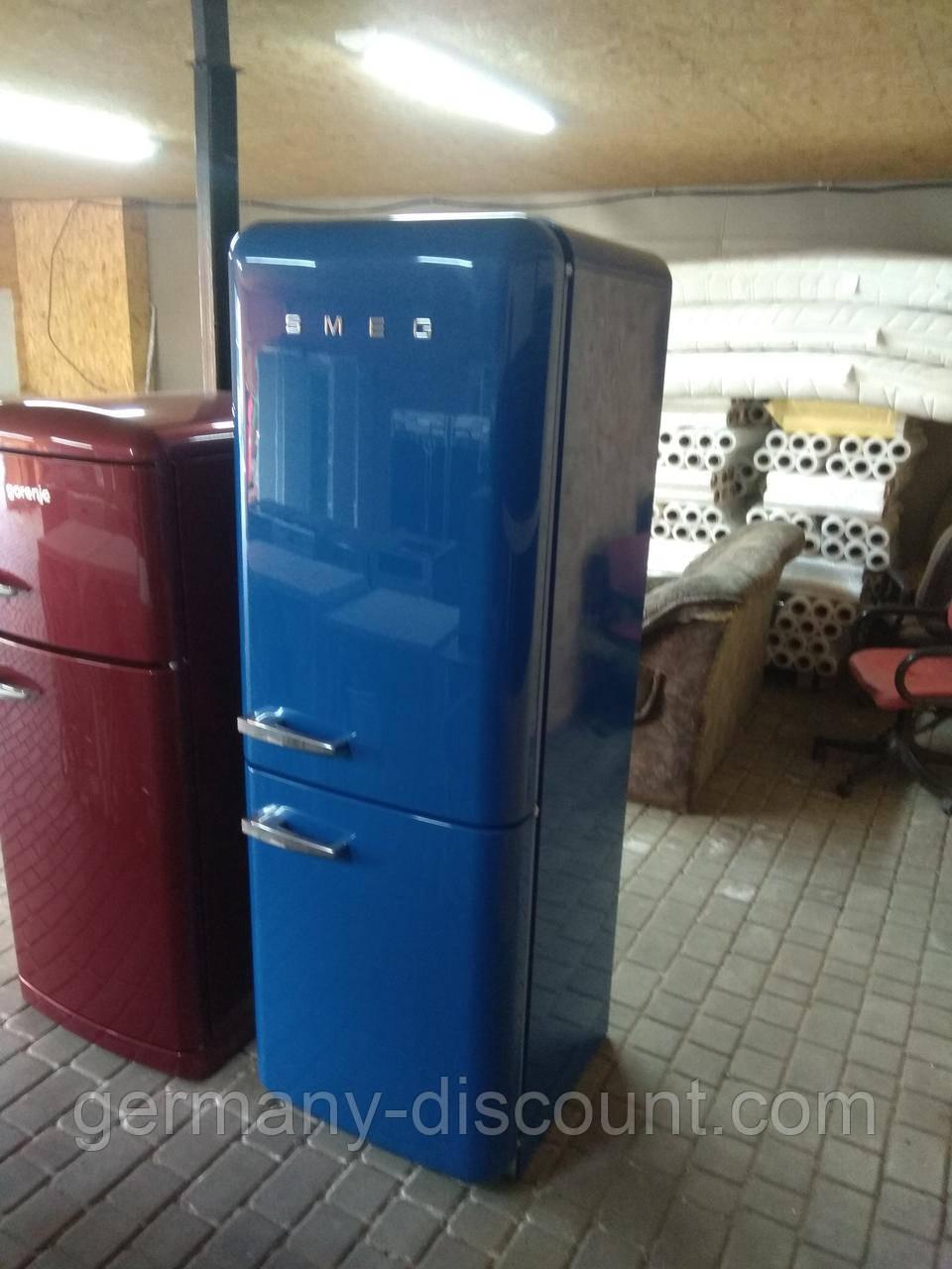 Ретро холодильник SMEG 185см