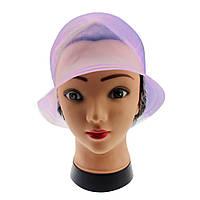 Профессиональная парикмахерская шапочка розовая силиконовая для колорирования волос