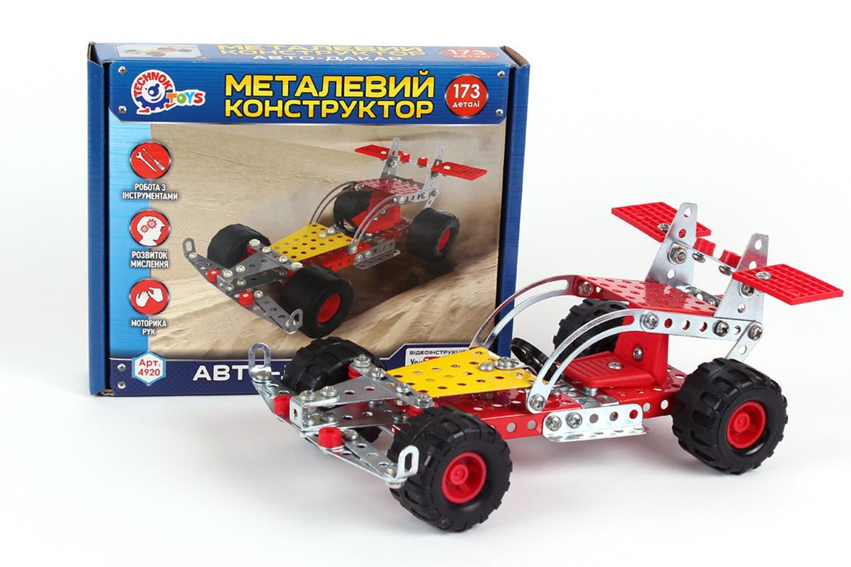 Металлический конструктор Технок Авто-дакар 173 детали (rv0070122)