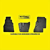 Коврики в салон Mercedes Sprinter I. 1995-2006. Без запаха.Премиум качество. Производство Беларусь