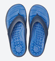 Crocs Reviva Flip оригинал США M7W9 39-40 вьетнамки сланцы шлепки массажные unisex крокс крокси original