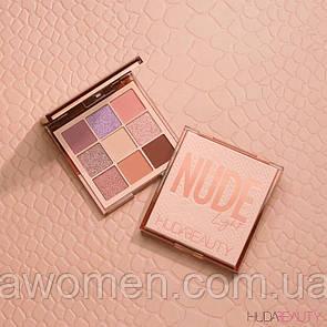 Тени Huda Beauty Light Nude Obsessions