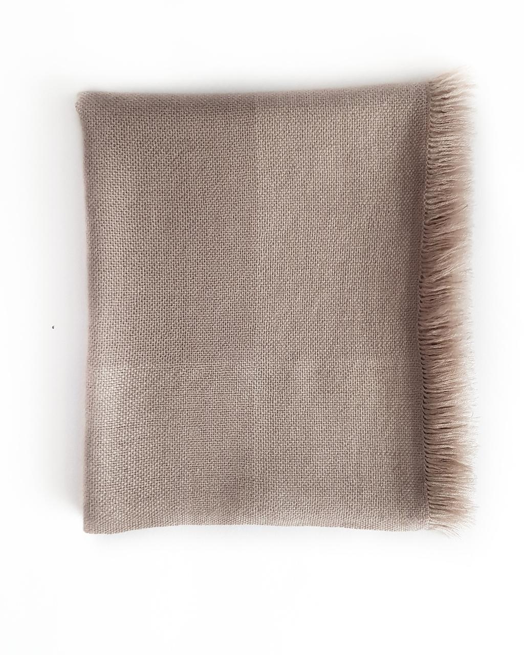 Кашемировый шарф Chadrin бежевого цвета