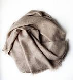 Кашемировый шарф Chadrin бежевого цвета, фото 2