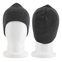 Шапка с Bluetooth 3.0 гарнитурой (Music Hat) темно-серая