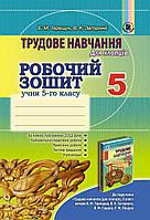 Трудове навчання для хлопців, 5 кл., Робочий зошит - Терещук Б. М. - Генеза (100477)