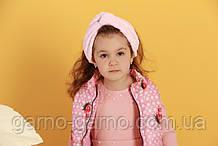 Пов'язка тепла модна з вузликом. Чалма. Колір рожевий велюр