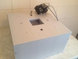 Инкубатор бытовой автоматический «Новая Птица» НПАЦ-96 на 96 перепелиных яиц (цифровой терморегулятор)