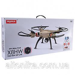 Квадрокоптер Syma X8HW  с гироскопом , камера, WiFi . FPW.