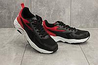Мужские кроссовки искусственная кожа весна/осень черные M 749 -1 (Baas), фото 1
