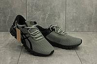 Мужские кроссовки текстильные весна/осень серые Aoka A 740 -8