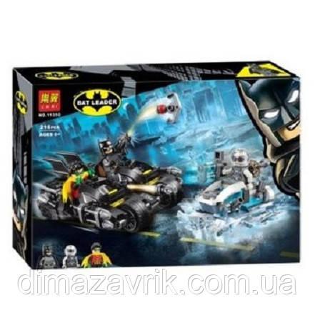 """Конструктор Bela 11350 (Аналог Lego Super Heroes 76118) """"Гонка на мотоциклах с Мистером Фризом"""" 216 деталей"""
