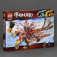 """Конструктор QS08 70721 (Аналог Lego Ninjago) """"Красный дракон""""617 деталей, фото 1"""