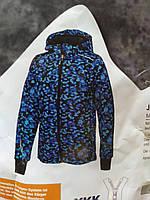 Детская мембранная куртка crivit 122\128 Softshelljacke геометрия, фото 1