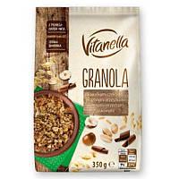 Мюсли  с орехами и шоколадом Vitanella  Granola Польша 350г